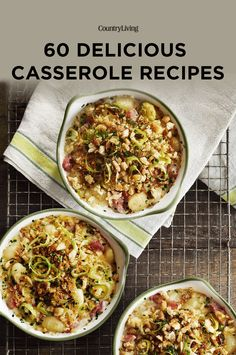 They're no-fuss and delicious. What more could you ask for? Dinner Casserole Recipes, Casserole Dishes, Supper Ideas, Dinner Ideas, Best Potluck Dishes, Food Dishes, Main Dishes, Sopapilla Cheesecake, Cheeseburger Pie