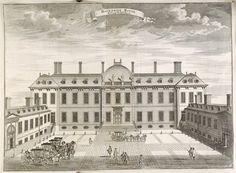 he first home of the British Museum was Montagu House, built in 1686