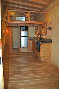 Molecule Tiny Homes 9 x 20 Tiny House Project Photo--I like the modern yet warm style of the house.