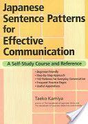 Japanese sentence patterns for Effective Communication - Google Books