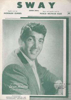 Image result for dean martin sway