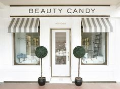 The Beauty Candy Apothecary - Store Identity The Beauty Candy Apothecary - lifestyle concept store identity design. Bravo Company is a Singapore based creative studio founded by Edwin Tan and Janice T Decoration Facade, Shop Facade, Design Exterior, Candy Brands, Boutique Stores, Boutique Store Front, Cafe Shop, Shop Fronts, Retail Space