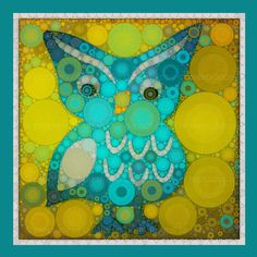 http://www.etsy.com/listing/89723295/little-blue-owl-5x5-metallic-canvas?ref=tre-2071151575-15      http://www.etsy.com/treasury/MTY3MDE1MTZ8MjA3MTE1MTU3NQ/blue-lime?index=2149