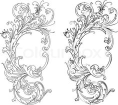 Gallery For > Baroque Style Tattoo