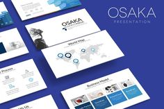 OSAKA Powerpoint Template by Artmonk on Envato Elements