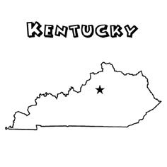 Kentucky Unit Study State Symbol Coloring Page by Crayola