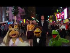 Our family loves the Muppets, I especially like the old school music in this movie:0)