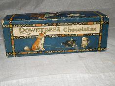 VINTAGE ROWNTREEs CHOCOLATES BOX http://en.wikipedia.org/wiki/Rowntree%27s