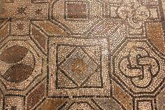Mosaic Floor, Florence Duomo Crypt #TuscanyAgriturismoGiratola