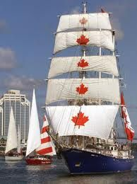 The Canadian tall ship SV Concordia