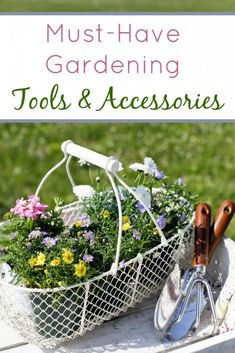 Having the right equipment to do the job at hand will save you countless hours and tons of frustration in the long run. Any experienced gardener will tell you how much easier it is to grow your own fruits and vegetables if you have the right tools and accessories in your arsenal.