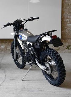 Vintage Motorcycles 313211349082022094 - XT 500 Motorieep – RocketGarage – Cafe Racer Magazine Source by Tracker Motorcycle, Motocross Bikes, Motorcycle Engine, Cafe Racer Motorcycle, Motorcycle Adventure, Enduro Vintage, Vintage Motocross, Vintage Bikes, Vintage Motorcycles