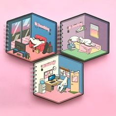 International online store for human creatures who wants to do nothing Isometric Art, Isometric Design, Graphic Design Illustration, Graphic Illustration, Kawaii Doodles, Environment Concept Art, Cute Drawings, Cute Art, Book Design