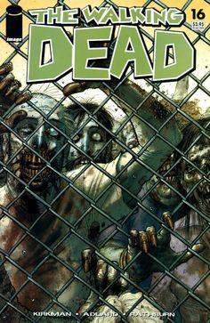 Capa da Edição #16 de The Walking Dead