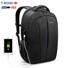 ca553d28fd Waterproof Backpack 15.6inch Laptop Backpack NO Key TSA Anti Theft Men Backpacks  Travel