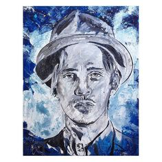 "74 Likes, 1 Comments - Melani Rossouw Artist CapeTown (@melani.rossouw_art) on Instagram: ""Title: Brandon Boyd Size: 70 x 56cm Medium: Mixed media on canvas COMMISSIONED WORK #incubus…"""