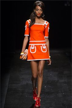 Madame Keke Fashion Blog : Moschino Spring/Summer 2013 Ready-To-Wear Collection