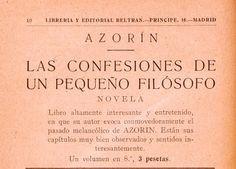 #Azorín