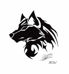 67 Ideas Tattoo Wolf Tribal Ideas For 2019 Wolf Tattoos, Wolf Tattoo Back, Tribal Wolf Tattoo, Small Wolf Tattoo, Wolf Tattoo Sleeve, Lion Tattoo, Body Art Tattoos, Tribal Tattoos, Drawing Tattoos