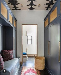 Create a beautiful setting to drop your things Ikea Pax Wardrobe, Mudroom Laundry Room, Elegant Homes, Architectural Digest, Traditional House, Home Projects, Family Room, Shed, New Homes
