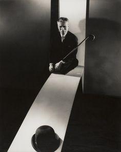 Charlie Chaplin, Photographed by Edward Steichen, 1931.