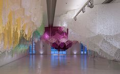 <p>Argentinian artist Manuel Ameztoy has created Paraísos desplegables (Pop-up Paradises), a site-specific solo exhibition in the Faena Arts Center in Buenos Aires. The installation reaches 630 m² of