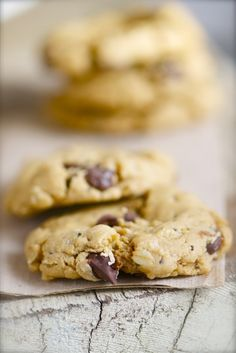 Trail Mix Chocolate Chip Cookies
