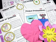 Chrysanthemum Mini Unit comes with a lesson on kindness, crafts, writing pages, as well as math and language arts printables. This is perfect for the first week of school to promote a caring classroom! Kevin Henkes Books, Printable Art, Printables, One Week, Chrysanthemum, Language Arts, The One, Childrens Books, Classroom