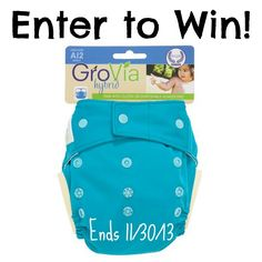 Enter to win a Grovia Shell Hybrid from Dream Diapers