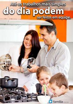 Familia.com.br | Como #construir um #trabalho em #equipe no #casamento. #amor #familia