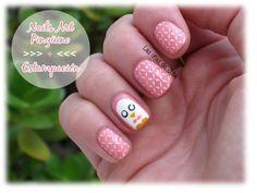 Nails Art Pingüino / Placas de estampación