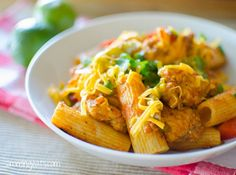 Fajita Chicken Pasta | Slimming Eats - Slimming World Recipes
