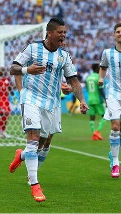 Marcos Rojo #Argentina