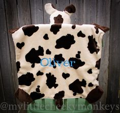 plush fun + Ds Awareness! Gorgeous craftmanship - did you see this? Check out her blog - she has cows, monkeys and more