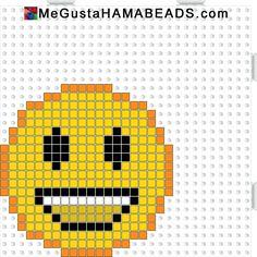 MeGustaHAMABEADS.com: Hama Beads Plantillas Canoe, Robot de cocina, Emoticonos Wassap y Weiss
