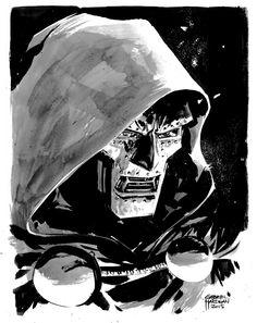 Dr. Doom by Gabriel Hardman