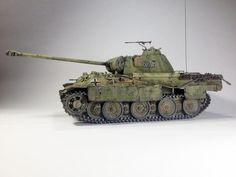 Panzerkampfagen V Panther - Tamiya + Edek Army & Navy, Military Army, Armoured Personnel Carrier, Modeling Techniques, Model Tanks, Woodland Party, Model Building, Armored Vehicles, Art Model