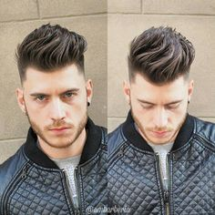 Mens Hairstyles + Cool Haircuts For Men – Hair Style Mens Hairstyles With Beard, Quiff Hairstyles, Cool Hairstyles For Men, Cool Haircuts, Hair And Beard Styles, Haircuts For Men, Mens Hairdresser, Medium Hair Styles, Short Hair Styles