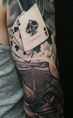 Detail of a sleeve by James Spencer Briggs.