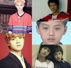 Luhan before and after