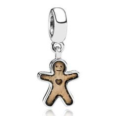 ♥ #Pandora #Charms exclusively at #CapriJewelersArizona ~ www.caprijewelersaz.com ♥  Pandora Gingerbread Spacer $35