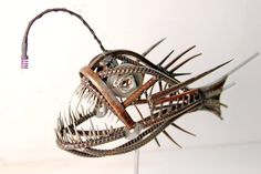 metal Angler Fish by devincahow on Etsy, $750.00