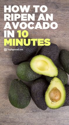 Do you have an unripe avocado that you want to dig into right away? Waiting for an avocado to ripen is frustrating, but here's how to ripen an avocado fast. Avocado Dessert, Avocado Recipes, Vegetable Recipes, Guacamole Recipe Easy, Healthy Recipes, How To Ripen Avocados, Avocado, Healthy Foods, Eating Clean