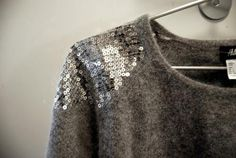 sequins on knit = love it