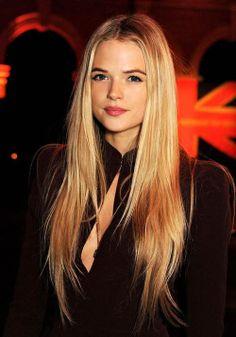 Gabriella Wilde. the hair..
