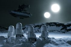 Star Wars toy photography by Avanaut.