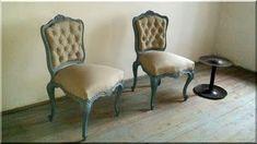 Székek, antik, vintage ok - Antik bútor, antique furniture Antique Furniture, Vintage Designs, Dining Chairs, Shabby Chic, Antiques, Modern, Loft, Home Decor, Dinner Chairs