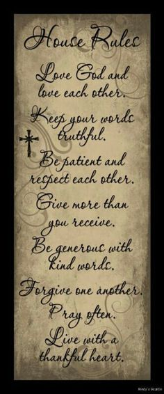 House Rules Love God Each Other Sign Inspiration Primitive Country Home Decor home design ideas living room design interior design room designs home design Picture Quotes, Quotes To Live By, Life Quotes, Primitive Country Homes, Primitive Decor, Country Homes Decor, Primitive Country Decorating, Primitive Signs, Country Interior