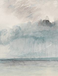 JMW Turner, A Paddle Steamer in a Storm, detail, 1841