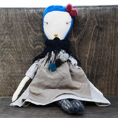 jess brown rag doll